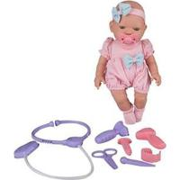 Boneca Bebezinho Real Primeiros Cuidados Que Chora - Unissex-Incolor