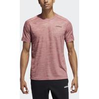 Camiseta Adidas D2M Ht Masculina - Masculino-Vermelho