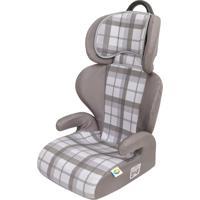 Cadeira Para Auto 15 A 36 Kg Safety E Comfort Xadrez Cinza Tutti Baby