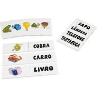 Jogo Educativo Carlu Brinquedos Cartas P/ Branco