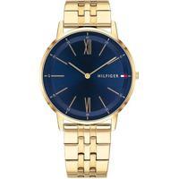 658af5143ad Relógio Tommy Hilfiger Masculino Aço Dourado - 1791513