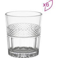 Jogo De Copos Para Whisky Mirano- Incolor- 6Pçs-Bon Gourmet
