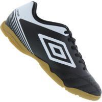 Chuteira Futsal Umbro Striker Iv Ic - Adulto - Preto/Branco