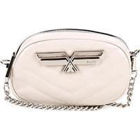 Bolsa Ellus Pochete Mini Bag Matelassê Metal Feminina - Feminino-Off White