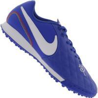 6d371556d6 ... Chuteira Society Nike Tiempo Legend X 7 Academy 10R Tf - Adulto -  Azul Branco