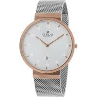 Relógio Oslo Masculino - Omtsss9U0002 S2Sx - Rosé