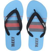 Chinelo Reef Switchfoot Peller Azul