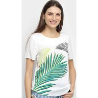 Blusa Lez Lez Ampla Coconut Feminina - Feminino-Colorido