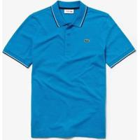 Camisa Polo Lacoste Sport Regular Fit Masculina - Masculino-Azul