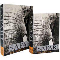 Caixas Estilo Livro Linha África