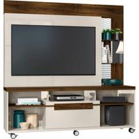 Home Theater Marcos Off White/Savana Madetec