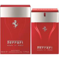 Perfume Man In Red Masculino Ferrari Edt 50Ml - Masculino-Incolor