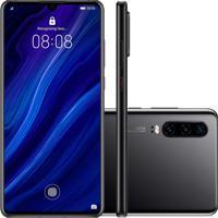 Smartphone Huawei P30 128Gb Versão Global Desbloqueado Preto