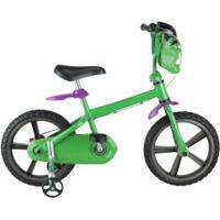 Bicicleta Disney Hulk - Aro 14 - Infantil - Verde