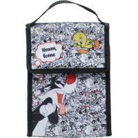 Lancheira Looney Tunes Frajola E Piu Piu Colorido 19 X 12 X 26 Cm
