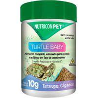 Ração Para Tartarugas Nutricon Turtle Baby 10G
