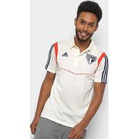 Camisa Polo São Paulo Viagem Adidas Masculina - Masculino