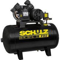 Compressor De Ar Schulz Pro Csv10/100 Trifásico Preto 220V/380V