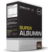 Super Albumin 500G - Probiotica - Unissex-Chocolate