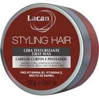 Lacan Styling Hair Cera Texturizante Gray Wax 100G