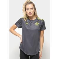 Camisa Flamengo Iii 19/20 S/Nº Torcedor Adidas Feminina - Feminino