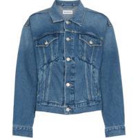 Balenciaga Jaqueta Jeans - Azul