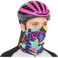Bandana Marcio May Bike Pink - Unissex-Preto