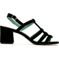 Blue Bird Shoes Sandália Daniela Veludo - Preto