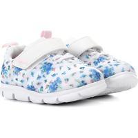Tênis Infantil Bibi Energy Baby Velcro Feminino - Feminino-Floral