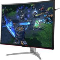 "Monitor Gamer Ag322Fcx/75 Entusiasta 31.5"" Led 1920 X 1080 Wide Vga Dvi Hdmi Dp Aoc"