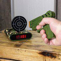 Gun Alarm - Relógio Despertador Com Alvo