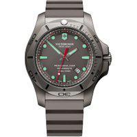 Relógio Victorinox Swiss Army Masculino Borracha Cinza - 241810