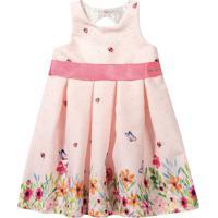 Vestido Floral- Rosa Claro & Rosa- Marisolmarisol