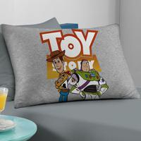 Fronha Avulsa Portallar Malha Estampa Localizada Toy Story Woody E Buzz Disney Mescla