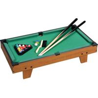 Jogo Bilhar Sinuca Snooker Em Madeira Grande