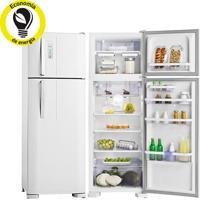 Refrigerador   Geladeira Electrolux Frost Free 2 Portas Com Painel Blue Touch 310 Litros Branco - Df36A