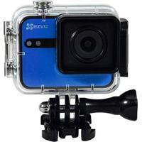 Câmera De Ação Ezviz Full Hd S1C Preto/Azul