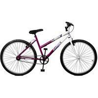Bicicleta Master Bike Aro 26 Feline Violeta/Branco