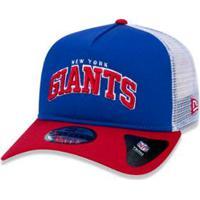 ... Boné 940 New York Giants Nfl Aba Curva Snapback New Era - Masculino-Azul  Royal f633cb2b8d9