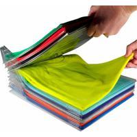 Organizador Roupas Camisas E Camisetas Tipo Arquivo Com 10 Camadas