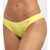 Calcinha Tanga Lupo Clássica - Feminino-Amarelo