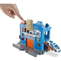 Pista Hot Wheels - City Downtown - Delegacia De Polícia - Mattel
