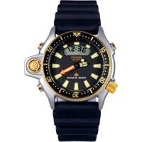 Relógio Citizen Aqualand Série Ouro Jp2004-07E   Tz10137P - Masculino