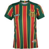Camisa Do Sampaio Corrêa I 2020 Super Bolla - Feminina - Verde/Vermelho