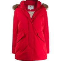 Woolrich Parka Luxury Arctic - Vermelho