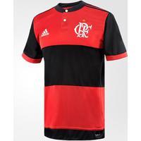 Camisa Flamengo I 17/18 S/Nº - Torcedor Adidas Masculina - Masculino
