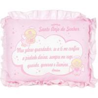 Travesseiro Para Bebê Cia. Do Nenem Rosa