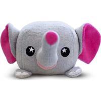 Esponja De Banho Soapsox Elefante Cinza