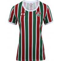 63ac586ee5a7e Camisa Do Fluminense I 2017 Under Armour - Feminina - Vinho Branco