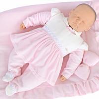 Saída De Maternidade Sonho Mágico Plush Freedom Rosa